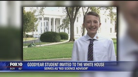 Valley student meets President Obama