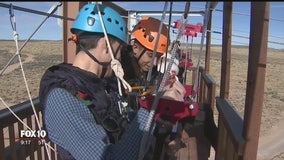 Ziplining over the Grand Canyon? Yes you can!