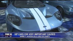 Super Saturday: Jay Leno and George W. Bush surprises car enthusiasts at Barrett-Jackson