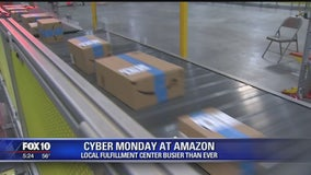Amazon fullfilment centers ready for Cyber Monday