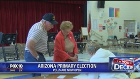 Problems reported at Phoenix-area polling places