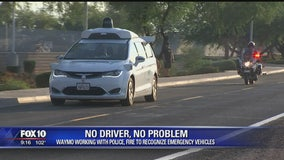 Self-driving car company, Waymo, assures no problems for first responders