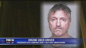 Man fuming after Uber trip with a drunk driver
