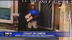 Porch pirate suspect was selling security systems for company