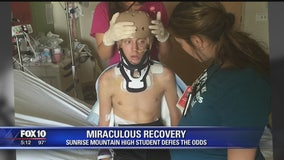 Miraculous recovery: Teen defies the odds