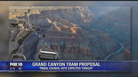 Navajo Nation lawmakers vote on Grand Canyon Tram project