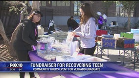 Fundraiser at Verrado HS shows support for recovering teen