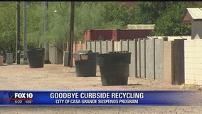 Casa Grande suspends recycling program due to cost