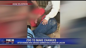 Zoo mulling changes following weekend jaguar attack