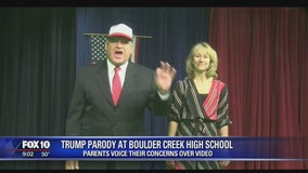 Parents voice their concerns over Trump parody video