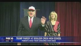 Parents voice their concerns over Trump parody video