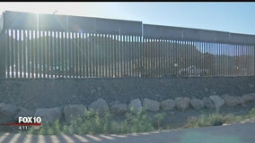 Privately funded portion of border wall appears in New Mexico town