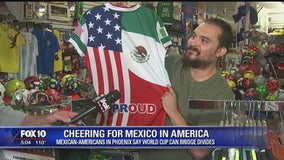 Mexico's success in the World Cup hopes to bring together Mexicans and Americans