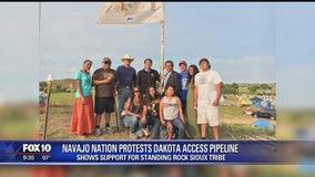 Navajo Nation joins protest of Dakota Access Pipeline