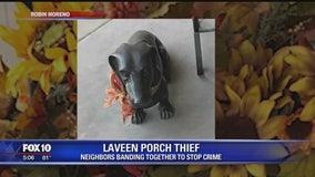 Neighbors banding together to stop crime