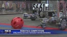 High school robotics team heads to super regionals