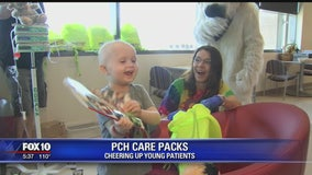 Community Cares: PCH care packs help cheer up young patients