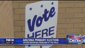 Voters report problems at polls