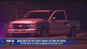 Police: Man shot multiple times, suspect on the loose
