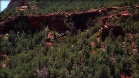 Drone Zone: Devil's Bridge in Sedona