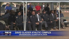 New sports complex named after fallen Phoenix Police officer