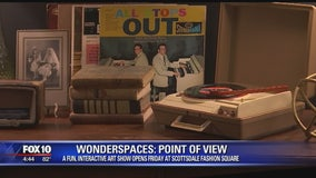 Olmost the Weekend: Wonderspaces Art Exhibit in Scottsdale
