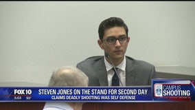Defendant in Northern Arizona Univ. shooting back on the stand