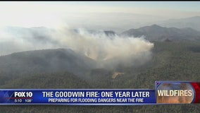 One year anniversary of Goodwin Fire