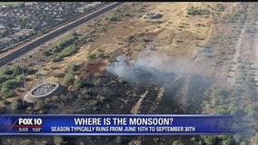 So far, the 2019 Monsoon season has been calm