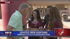 Cory's Corner: Coyote Crew Auditions