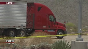 Truck driver reportedly shot in the leg in Buckeye