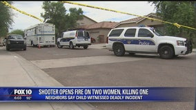 Phoenix Police identifies man who allegedly fired on two women inside a Tolleson home