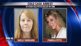 Prescott woman arrested, accused of 1988 murder of 19-year-old woman