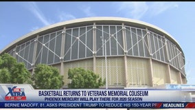 Phoenix Mercury to play temporarily at Veterans Memorial Coliseum in 2020