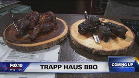Trapp Haus BBQ competes on Food Network's BBQ Brawl