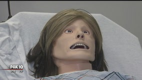Medical mannequins give students a chance to practice their skills