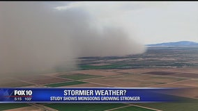 U of A professor: Fewer but more intense Monsoon storms this year