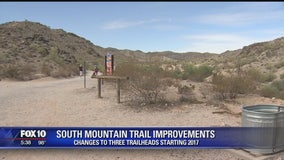 Major improvement coming to South Mountain trailheads