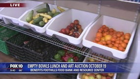 Cory's Corner: Empty Bowls Lunch and Art Auction