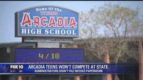 Arcadia HS administration error causes three tennis stars to miss state tournament