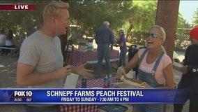Cory's Corner: Schnepf Farms Peach Festival