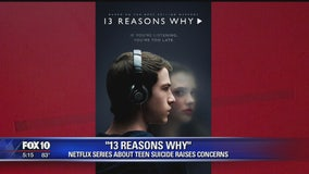 "Netflix series ""13 Reasons Why"" raising concerns over its impact on children"