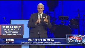 VP candidate Mike Pence holds event in Mesa