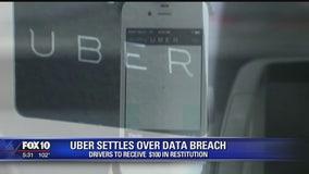 Uber agrees to $148M settlement over data breach