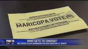 Who gets to choose? Bill would allow lawmakers to pick Senate candidates