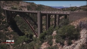 Drone Zone: The history behind two old bridges east of Phoenix