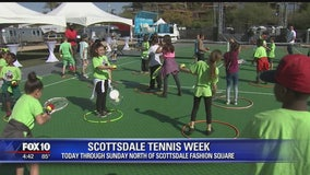 Inaugural Scottsdale Tennis Week kicks off in Old Town