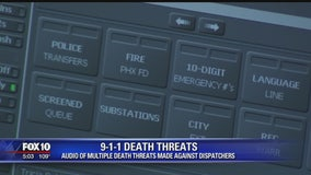 Phoenix Police misconduct claim results in death threats being made against 911 dispatchers