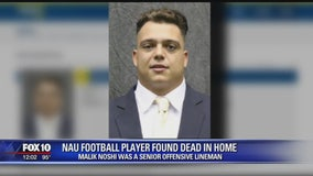 NAU football player found dead in Flagstaff home