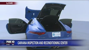 Cory's Corner: Carvana inspection and reconditioning center